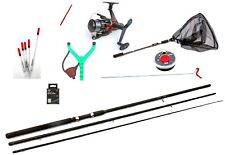 Complete W Class  Starter Fishing Tackle Set & Tackle Rod Reel Net 10ft  kit567