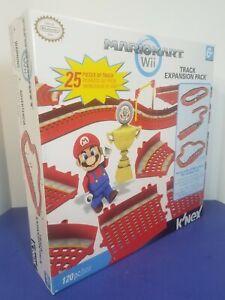 NEW K'NEX Nintendo Mario Kart Wii Expansion Track Pack 25 Pieces Sealed