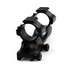 30mm/25.4mm Cantilever Flat Top Rifle Scope Mount Dual Rings Picatiiny Rail