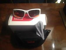 8f3eef7806 New Bolle 11453 White Polarized TNS Fire Snowboarding Skiing Sunglasses