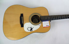Dwight Yoakam Country Star Signed Autograph Epiphone Acoustic Guitar PSA/DNA COA