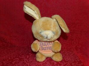 "RARE 11"" Vintage 1981 Hallmark Shirt Tales Knickerbocker SNUGGLE BUNNY Bunny HUG"