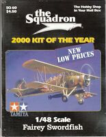 "[63965] ""THE SQUADRON"" MODELER CATALOG MAGAZINE 2000 KIT OF THE YEAR SQ 60"