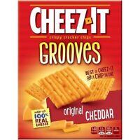 Cheez-It Grooves Original Cheddar Baked Snack Crackers