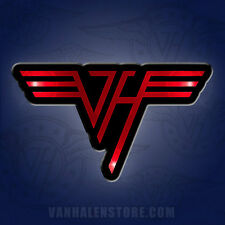 Van Halen Led Blinky Pin - New official button Vh Logo - Free Shipping