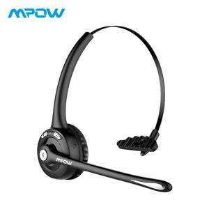 Mpow MBH15 2 dans 1 Sur-oreille Casque Sans Fil Bluetooth Casque avec Micro