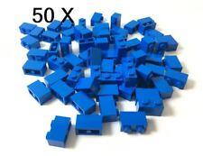 Lego Bricks Dark Azure 1x2. Part 3004 X 50