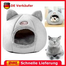 Haustier Katzen Nest Haus Bett Iglu Katzenhöhle Warm Hunde Katzen Höhlennest DE