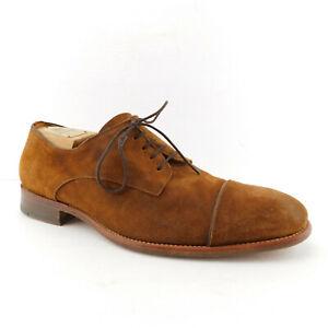 N.D.C. Size 10.5 Brown Suede Cap Toe Oxfords Shoes 44 Eur