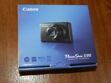 Nuevo En Caja Abierta-Canon PowerShot S95 HS cámara de 10.0 MP-Negra - 013803126556