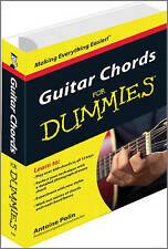 Guitar Chords For Dummies (For Dummies (Lifestyles Paperback)), Very Good Condit