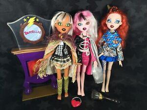 Bratzillaz Dolls - Sashabella, Meygana, Cloetta