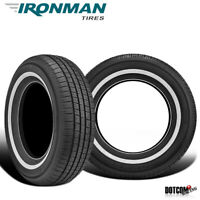 2 X New Ironman RB-12 NWS 205/75R15 97S All-Season Touring Tire