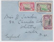 Southern Rhodesia 1937 Coronation FDC to UK