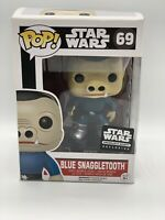 Funko POP! Star Wars, Blue Snaggletooth #69 Smuggler's Bounty Exclusive