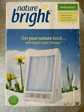 NatureBright SunTouch Plus Light and Ion Therapy Lamp - White *Brand New*