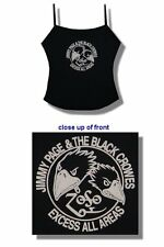 Black Crowes/Jimmy Page- New Juniors Excess All Areas Camisole- Osfm Free Ship!