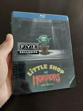 Little Shop of Horrors Director's Cut Steelbook Blu Ray Disc FYE Exclusive READ