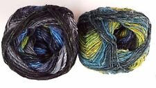 Noro Silk Garden Sock Yarn #S252 Blue Green Navy & Grey Mix 100g