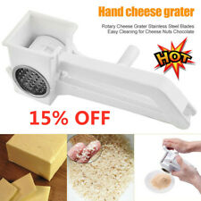 Stainless Steel Cheese Grater Multi Drum Rotary Butter Slicer Kitchen Tool - 15%