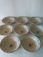 "International Stoneware - Heartland - Japan - 6.75"" Bowls (  8pc Set )"