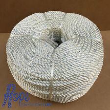 6mm Polyester Rope, Marine Rope Polyester, 3 strand, Mooring, Fender, Per Metre