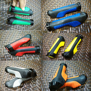 """Motorcycle GEL Rubber HAND GRIPS for 7/8"""" Handlebar Dirt Sports Bike Scooter GY6"""