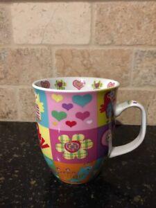 Creative Tops Owls Pink Multicolored Mug, 12 ounce, EC!