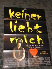Nobody Loves Me folded German Movie video promo Poster Maria Schraeder