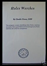 New Rolex Watches DVD by Charlie Cleves (VDO-103)