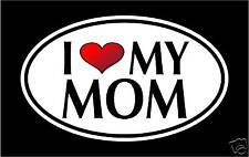"5.75"" I LOVE MY MOM vinyl decal sticker... mother"