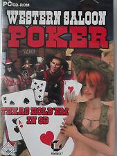 Western Saloon Poker - Texas Hold'em 3D - Poker am Lagerfeuer, Knast, Bardame