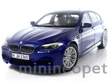 PARAGON MODELS 97014 2012 12 BMW M5 F10M SEDAN 1/18 DIECAST SAN MARINO BLUE
