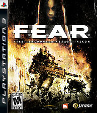 F.E.A.R.: First Encounter Assault Recon Ps3  PlayStation 3 Game only 16h 1