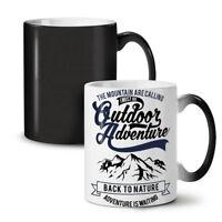 Nature Adventure Mountain NEW Colour Changing Tea Coffee Mug 11 oz   Wellcoda