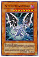 YUGIOH • Malefic Blu-Eyes White Dragon 1ST Edition DPKB-EN023 CARTA ULTRA NM