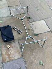 Jag Stainless Adjustable 3 Rod Pod, Fixed Bars