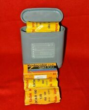 120 Film Kodak Ektar 100(2 Rolls) Exp 2017+ Film Protect Box+ 1 Roll Gold 100