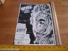 Strik Ix Nine 1980s Original Punk Rock concert poster Fullerton Ca
