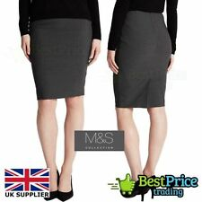 Marks and Spencer Women's No Pattern Polyester Business Skirts