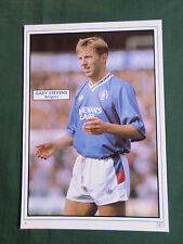 GARY STEVENS - RANGERS -  1 PAGE PICTURE - CLIPPING /CUTTING