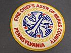 Fire Chief's Association Of Berks County Pennsylvania 1940s