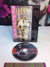 Lunar: The Silver Star (Sega CD, 1993) DISC Only W/ Custom Case TESTED WORKING