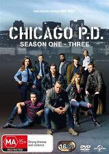 Chicago P.D. : Season 1-3 (DVD, 2016, 16-Disc Set) (Region 4) Aussie Release