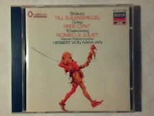 HERBERT VON KARAJAN Strauss Grieg Tchaikovsky cd DECCA RAROISSIMO VERY RARE!!!