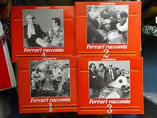 FERARI RACCONTA - ITALIAN PUBLICATION inc POSTERS 1 2 3 & 4 - FANGIO LAUDA etc