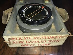 WW2 (1942) Type PS Military RAF Compass (As Used In Spitfire)