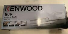 Kenwood KN650 Elektrisches Messer 100 W Weiß nie gebraucht funktioniert 100%