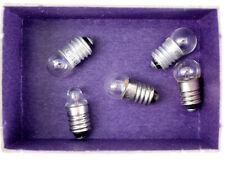 4 light bulbs 2.5V screw base - view-master stereo Realist viewers & more