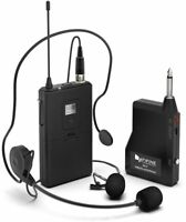 Fifine K037B Microphone System Wireless Microphone Set with Headset